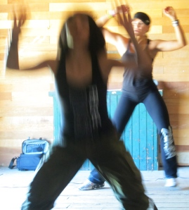 Maria Robles and Thanya Oliveira
